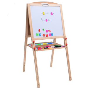 Home Mobile Double Sides Kids Writing Magnetic White board
