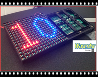 Epistar Led Chip 8000cd Reverse Polarity P10 Led Module Outdoor ...