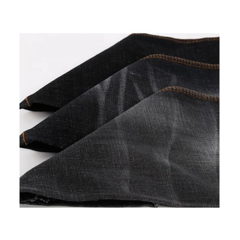 Hot sale elastic jean fabric different types of jeans materials desizing one up discount denim fabric