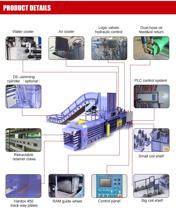 Industriale di cartone trituratore con ad alta resistenza nastro trasportatore per l'alimentazione