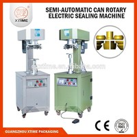 Esay operation semi automatic beer can seamer, easy open lip beer can seamer