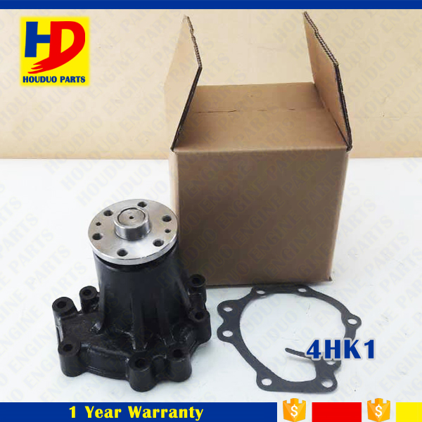 Water Pump Diesel Engine 4HK1 Excavator Parts For Isuzu Six Hole