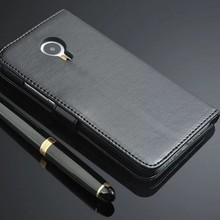 Luxury Retro Leather Case  Wallet Stand Pouch Card Holders Accessories Flip Cove for Wileyfox Swift (has silionce case inside)