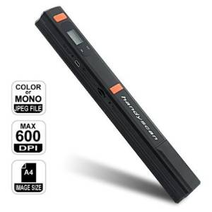 Supershop® Handheld Cordless Portable Scanner Photo & Document Handy Handheld Portable Scanner with A4 Color Contact Image Sensor