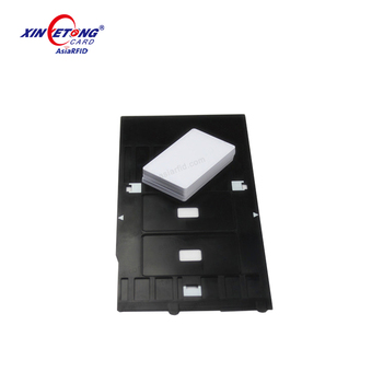 photo about Printable Printers known as Both equally Aspects Printable Inkjet Pvc Identification Card Printing Tray For Epson Printers Px635,Px650,Px660,China Model - Get Inexpensive Inkjet Printable Pvc Card