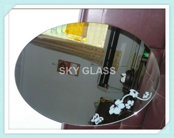 2 6mm Square Oval Arch Circle Bathroom Mirror Hotel
