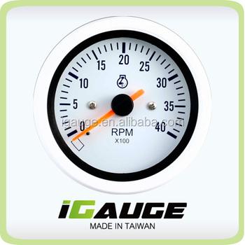 85mm Marine Auto Meter 0-4000 Rpm Tachometer For Yacht - Buy ...