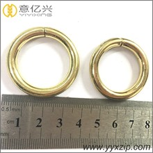 fashion crystal jewelry metal ring for luggage metal key ring