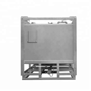 1000L sunflower oil storage stainless steel tank