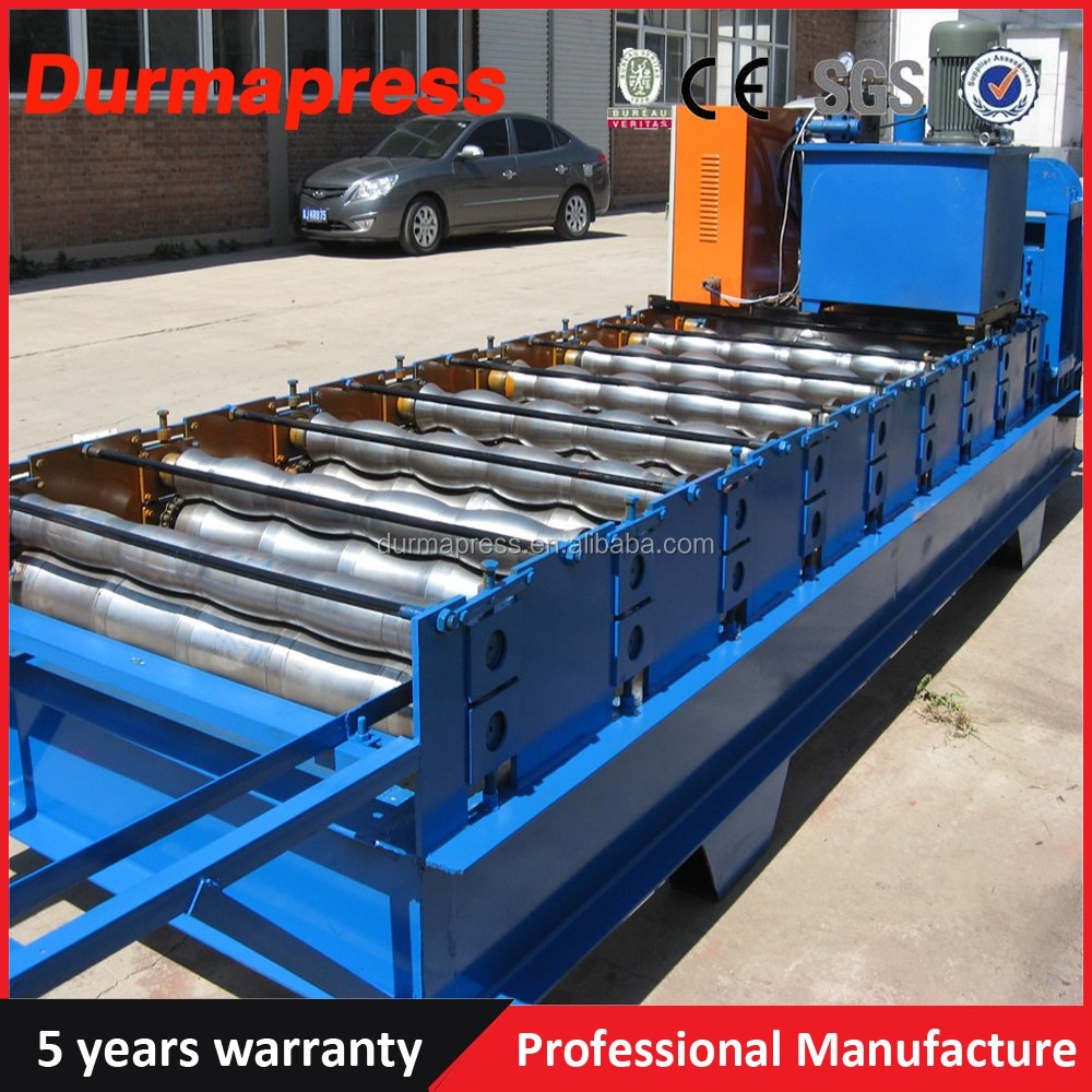 Cladding Sheet Forming Machine Double Decked Steel Roof And Wall Panel Roll Formi