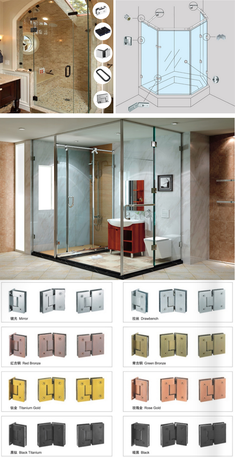 180 Degree Flap Adjustable Shower Glass Door Screen Pivot Concealed Hinges Parts Buy Shower Door Hinge Parts Shower Screen Pivot Hinges 180 Degree