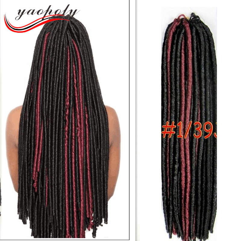 china factory mix color nina soft dread lock synthetic braiding hair, dreadlocks braids for black women