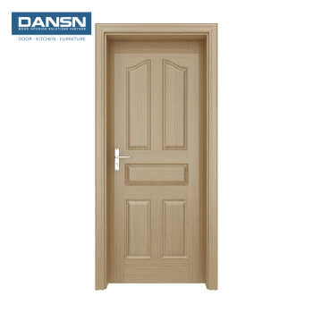 Wood Veneer Interior Fire Door Main Wooden For Hotel