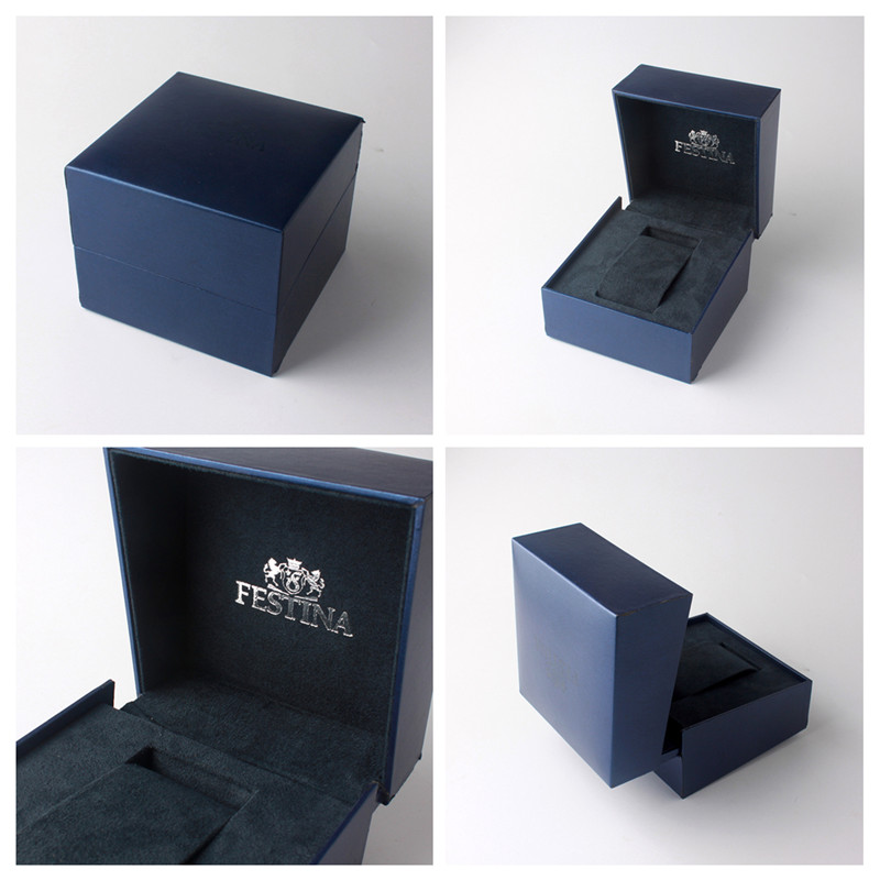 OEM service packaging wood box with PU leather for gift and jewelry