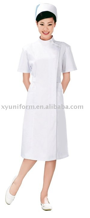 Fashionable Latex Nurse Dress Uniform