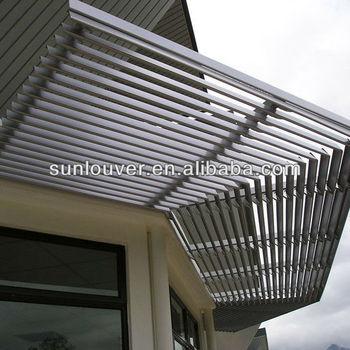 Aluminium Exterior Sun Shade Aluminium Wall Cladding