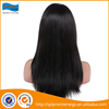Popular wholesale cheap human hair front lace wig women packed in PVC plastic bag