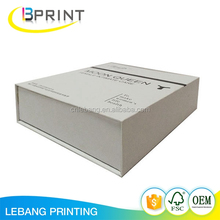 Wholesale custom magnetic closure packaging recycle cardboard gift paper boxes