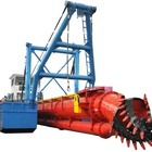River sand dredging machine/sand dredger/dredger made in China