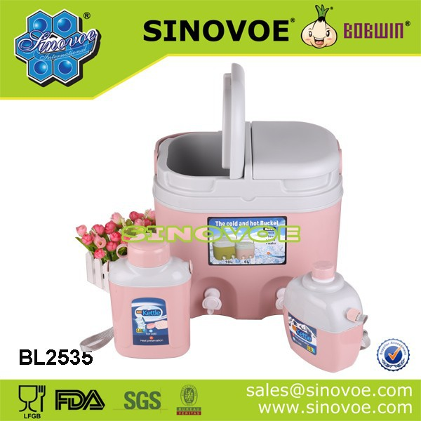 sinovoe new plastic insulated hot and cool kettle