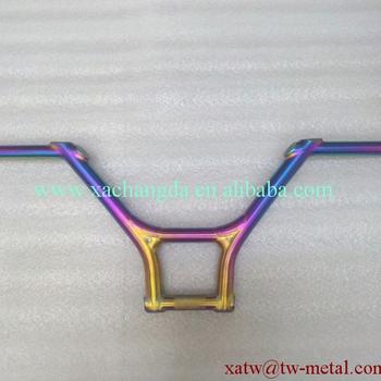 Titanium Bmx Frame Use Handle Bar Rainbow Color Titanuim Bmx Handle ...
