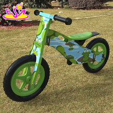Children balance wooden bike kid bike,hot sale kid wooden bike balance bike,best wooden toykid running bike W16C175