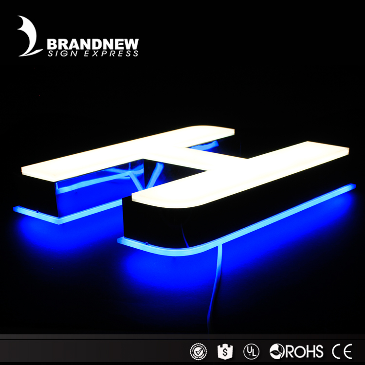 Custom led sign board design hot sale bar sign