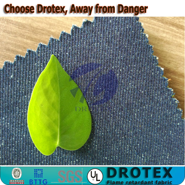 Factory of Flame retardant Denim fabric/ Supply All kinds of Fireproof Functional Denim fabrics