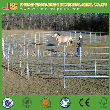 Metal farm livestock fence