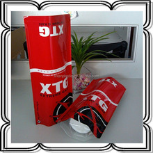 stand up aluminum bag with adhesive tape