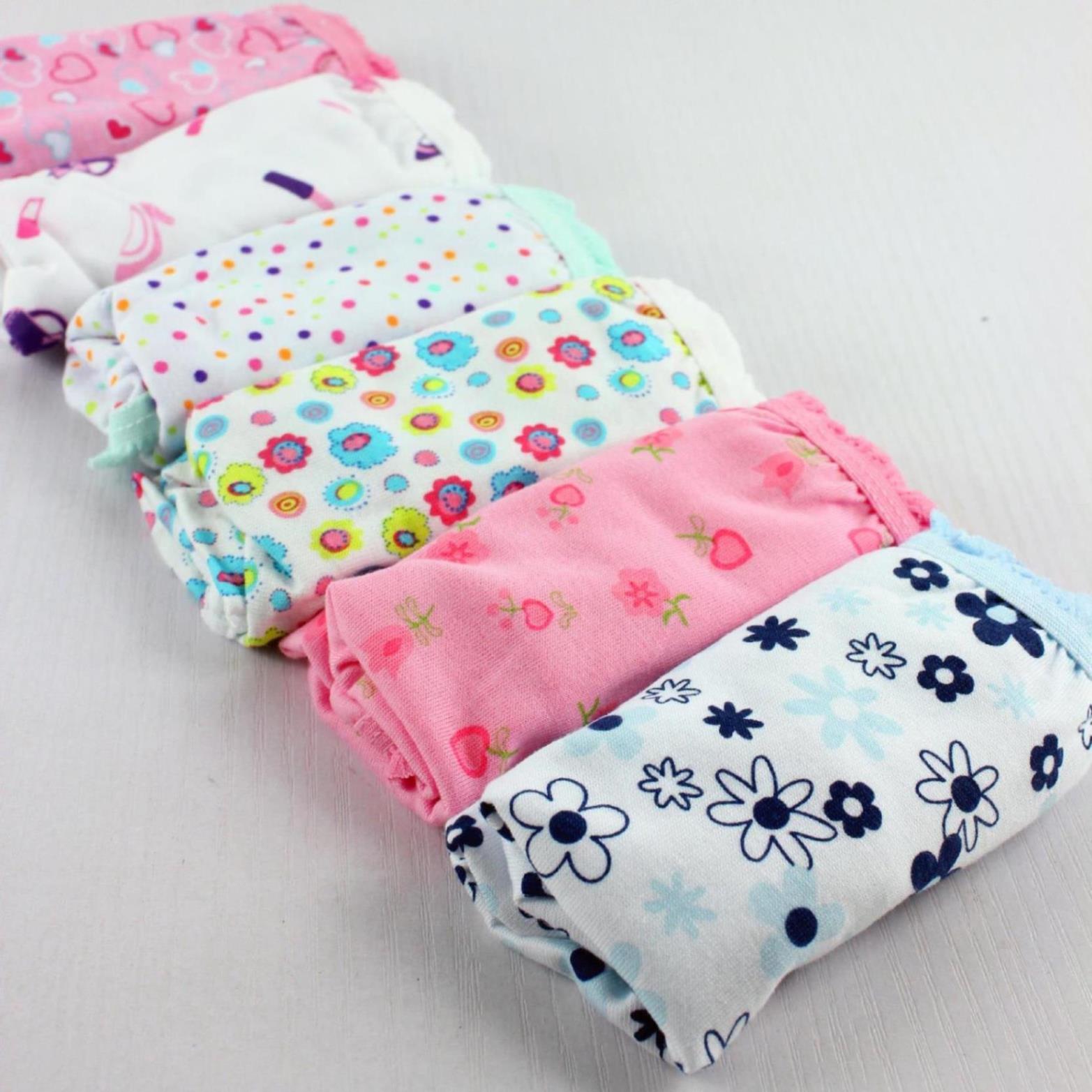 baby cotton underwear child panties bread under bb underwears pants girls triangle kids children briefs mixcolor
