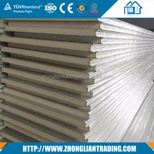 removable interior pu sandwich wall panel