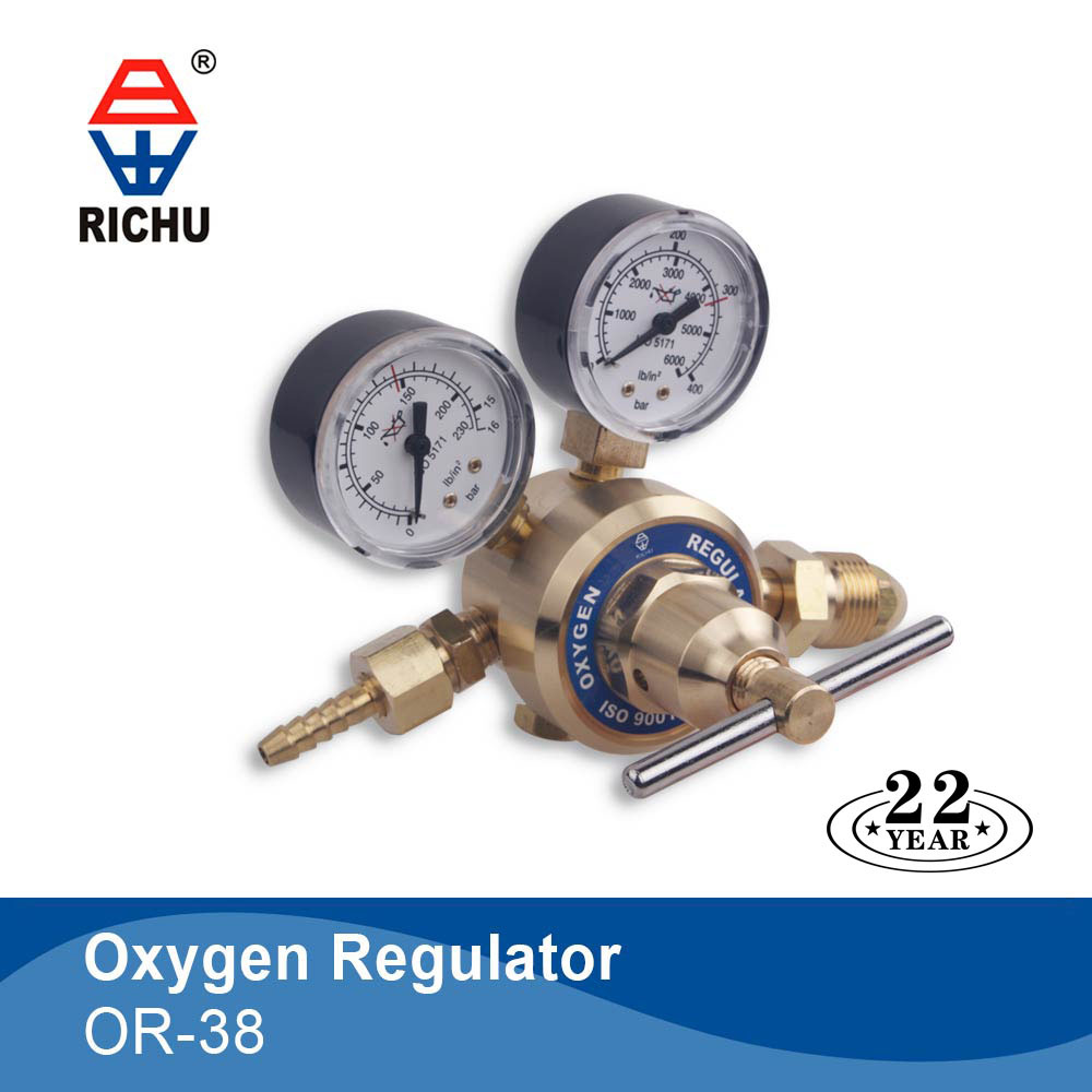 Manufacturer supply high quality oxygen gas regulator