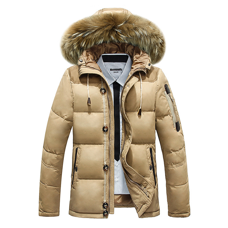 Buy high quality brand Men Winter Down Jacket mens duck down ...