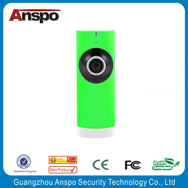 Anspo Hot Sale 180 degree lens 360eyeS IPC WiFi camera Panoramic IP Camera 720P baby monitor