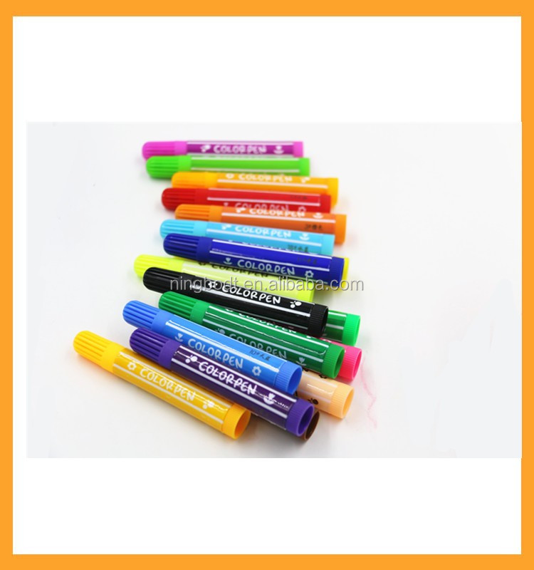 Kid's DIY washable color pen with creative custom printing