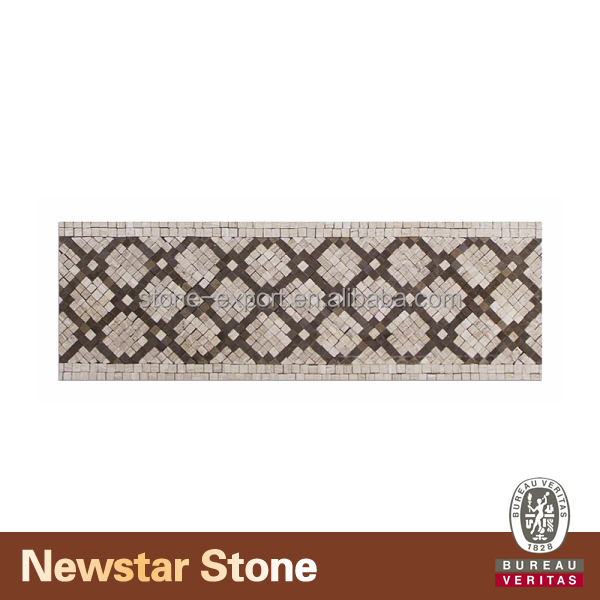 Natural stone Marble Trim Border