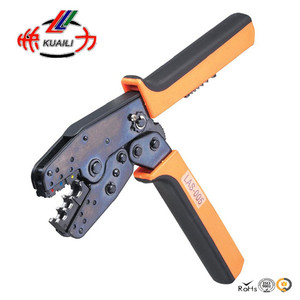 Crimping Tool Crimping Plier LAS-005 Piler Capacity 0.5-6/0.5-10mm2 20-10/20-8AWG For Terminals and Butt-Connectors and Ferrules