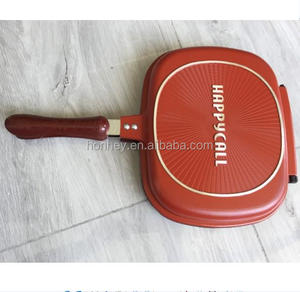 Die cast die-cast diecast happy call happycall double side grill frying pan