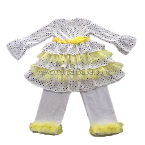 fe740a9d01a4 2015 wholesale kids clothes baby clothes made in china white and yellow usa  boutique baby clothes