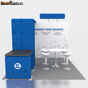 Top quality modular and portable ideas aluminum exhibition booth stall design