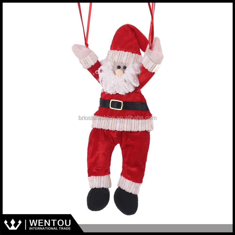 Flying santa fibre optic christmas decoration - Parachute Santa Claus Parachute Santa Claus Suppliers And Manufacturers At Alibaba Com