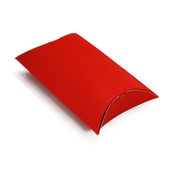 wholesale Red kraft Corrugated Hair Extensions Packaging Box Wig Paper Gift Pillow Box
