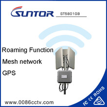 4800~6275MHz transmit data signal wireless mesh network bridge with GPS Multi-Hops Roaming function