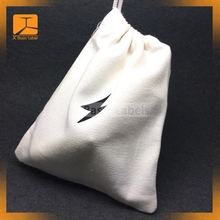 Cotton Bags wholesale custom printed shoe dust bags shopping packaging wholesale cotton fabric drawstring bag