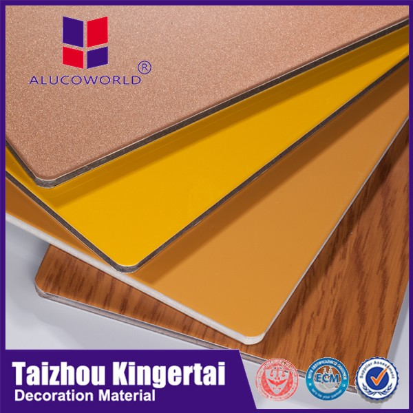 Alucoworld Ce Certified Color Variety Advertising Board Aluminum ...