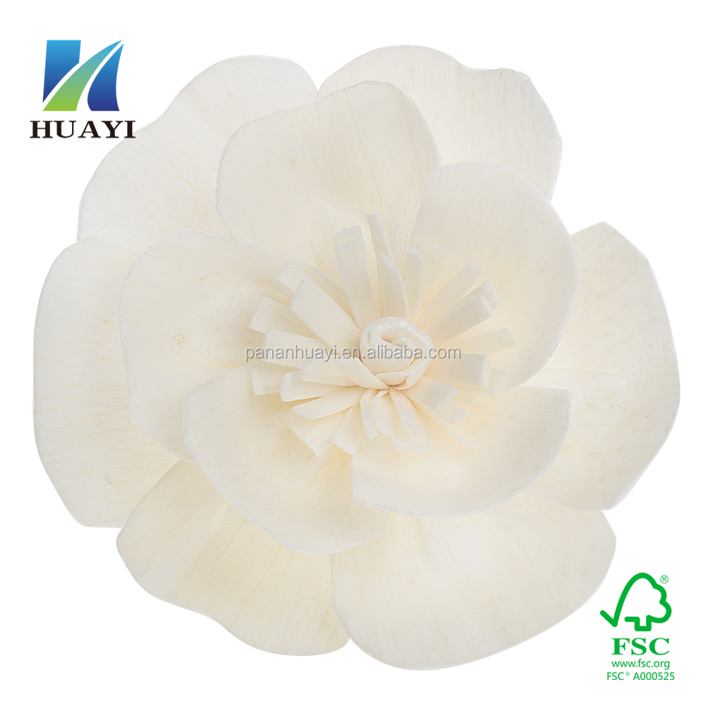 hand made sola flower wooden flower for home fragrance
