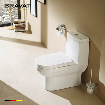 Ceramic Sanitary Bathroom Watermark Round Bowl Wc One Piece