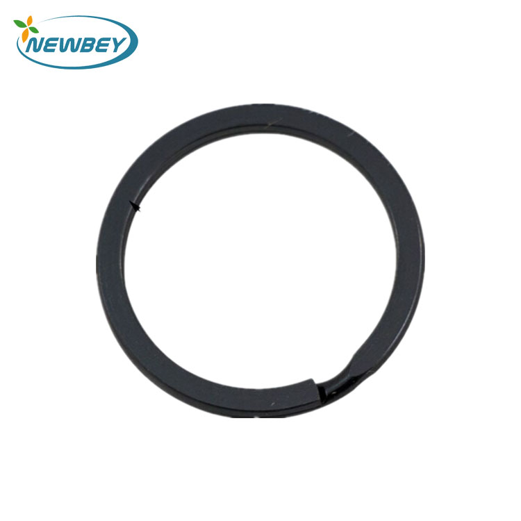 Fashion Black Flat O Ring For Keychain In 30mm - Buy Flat O Ring ...
