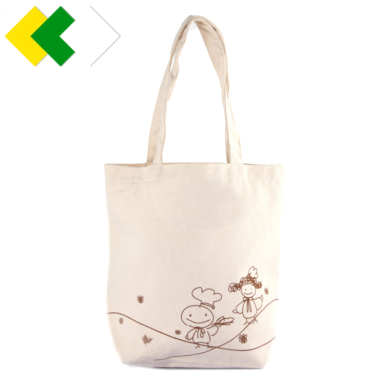 Set of 3 100% Organic cotton bottles produce bags reusable Toy /Grocery vegetable shopping bags